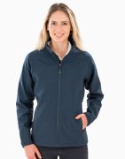 Dames Softshell Jas Result Recycled 2-Layer R901F