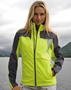 Dames SoftShell Trainingsjas Spiro Team S175F