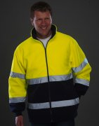 High Visibility Fleece Werktrui HVK108