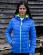 Dames Jas Result Snow Bird Hooded R194F