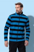 Heren Fleece Vest Striped Stedman ST5090