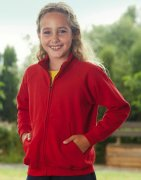 Sweatjacket Kinder Fruit of the Loom 62-005-0
