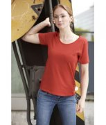 Dames T-Shirt James en Nicholson Workwear-T Women JN802