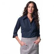 Dames Blouse 3/4 mouw borduren