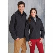 Softshell Dames jas hooded Kariban K414