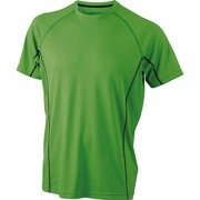 Heren Sportshirts James & Nicholson JN421 Men's Running Reflex-T