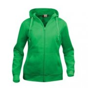 Dames Hooded Sweaters Full Zip Clique 021035