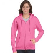 Dames Hooded Sweaters Gildan full zip 18600FL