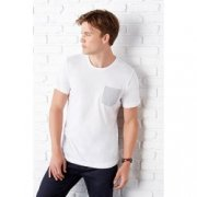 Heren T-shirt Bella Pocket B3021